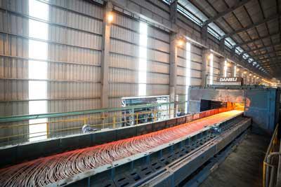 Hòa Phát điều chỉnh cơ cấu sản phẩm tại dự án Khu liên hợp thép Dung Quất