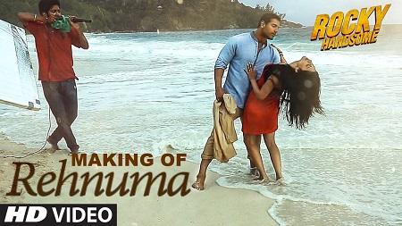 REHNUMA Song Making Video 2016 from ROCKY HANDSOME starring John Abraham and Shruti Haasan