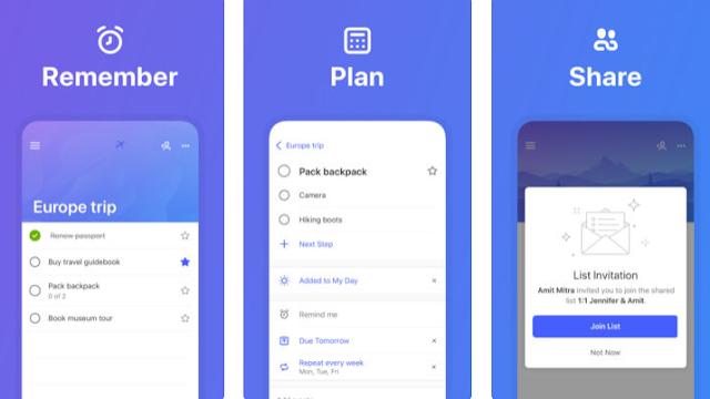 تطبيق To-Do لإدارة المهام لنظام iOS يجلب القائمة الذكية المخطَطة