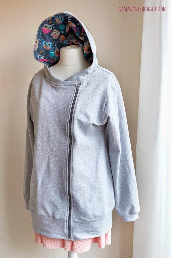 Bluzy, bluza, dla mamy, dla ciężarnej, dla dziecka, dla niemowlaka, do noszenia z chustą, na zamek, z kapturem, regulowana, dzielona, dresówka,