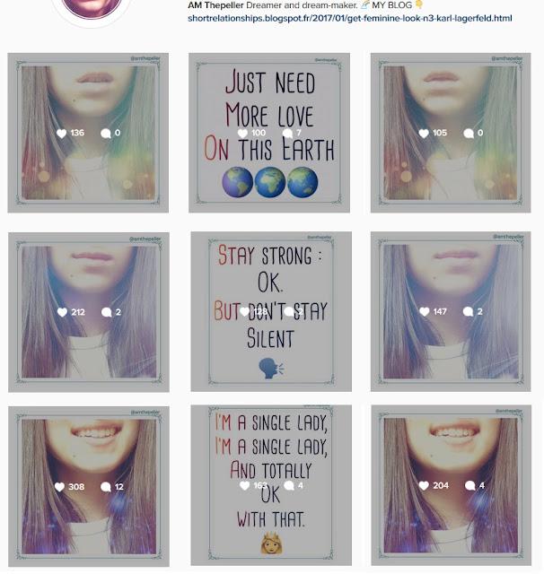 galerie statistique abonnés instagram