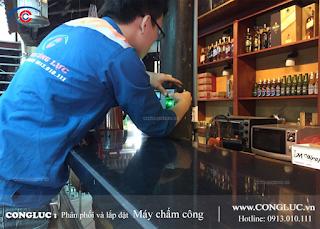 Lắp máy chấm công uy tín tại Thiên Lôi Hải Phòng