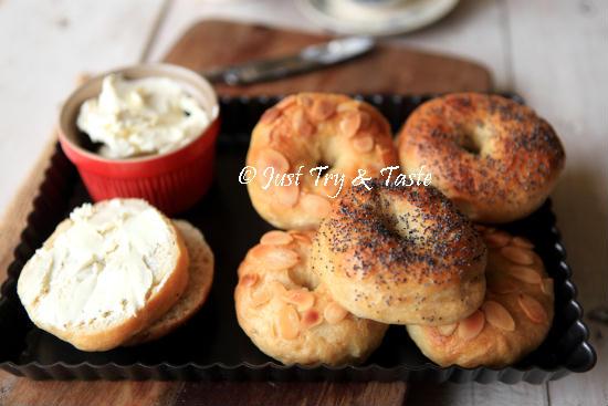 Obsesi Roti 45 - Bagel