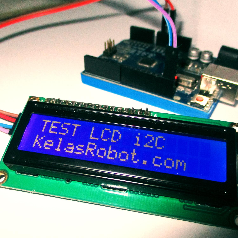 Arduino Compatible Lcd 1602 Biru Daftar Harga Terbaru Dan 16x2 Blue Backlight  And Quality Cara Simple Program I2c 162 Menggunakan