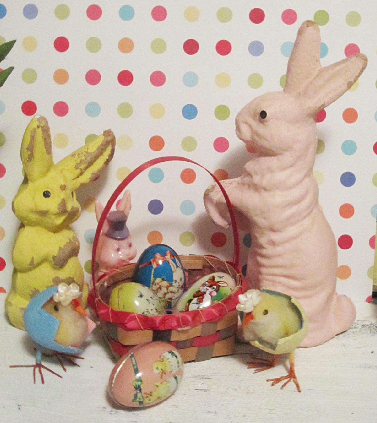 Easter Things: Golden Egg Vintage: Vintage Thingie Thursday: Easter Things
