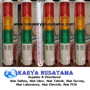Jual Lampu Signal Plus Buzzer Susun 3 220v di Jakarta