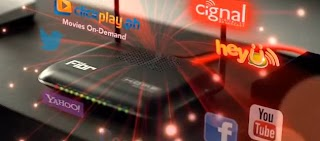 Pldt Fiber Optic Internet Plan now bundled with Cignal Digital TV