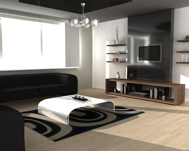 colori-pareti-grigio-scuro-soggiorno