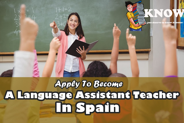 Job | Opportunity To Become A Language Assistant Teacher In Spain