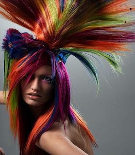 Cara Mudah Mewarna Rambut Secara ALAMI, CEPAT dan PERMANEN