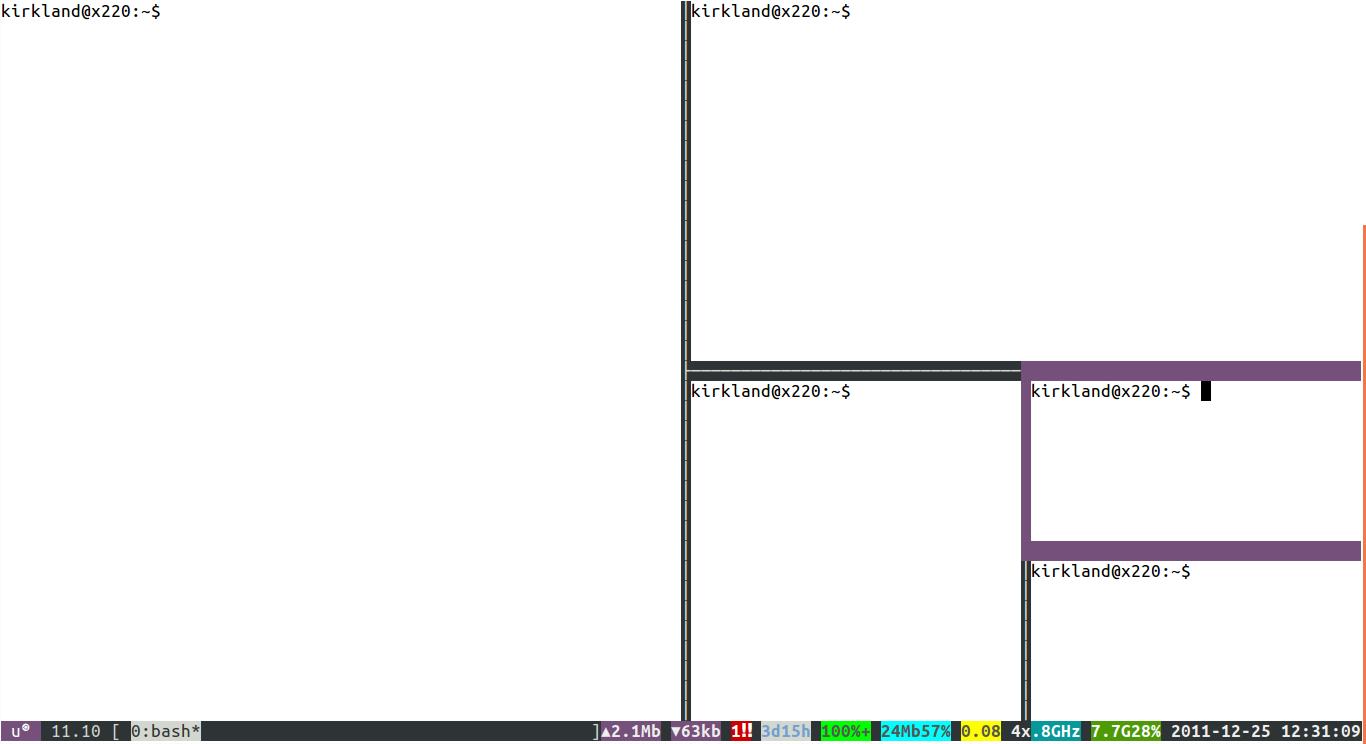 byobu in Launchpad