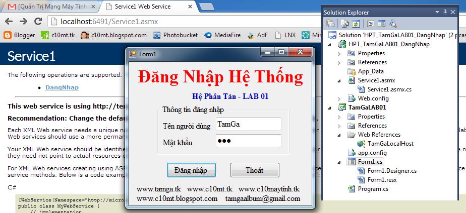 Hệ Phân Tán Webservice