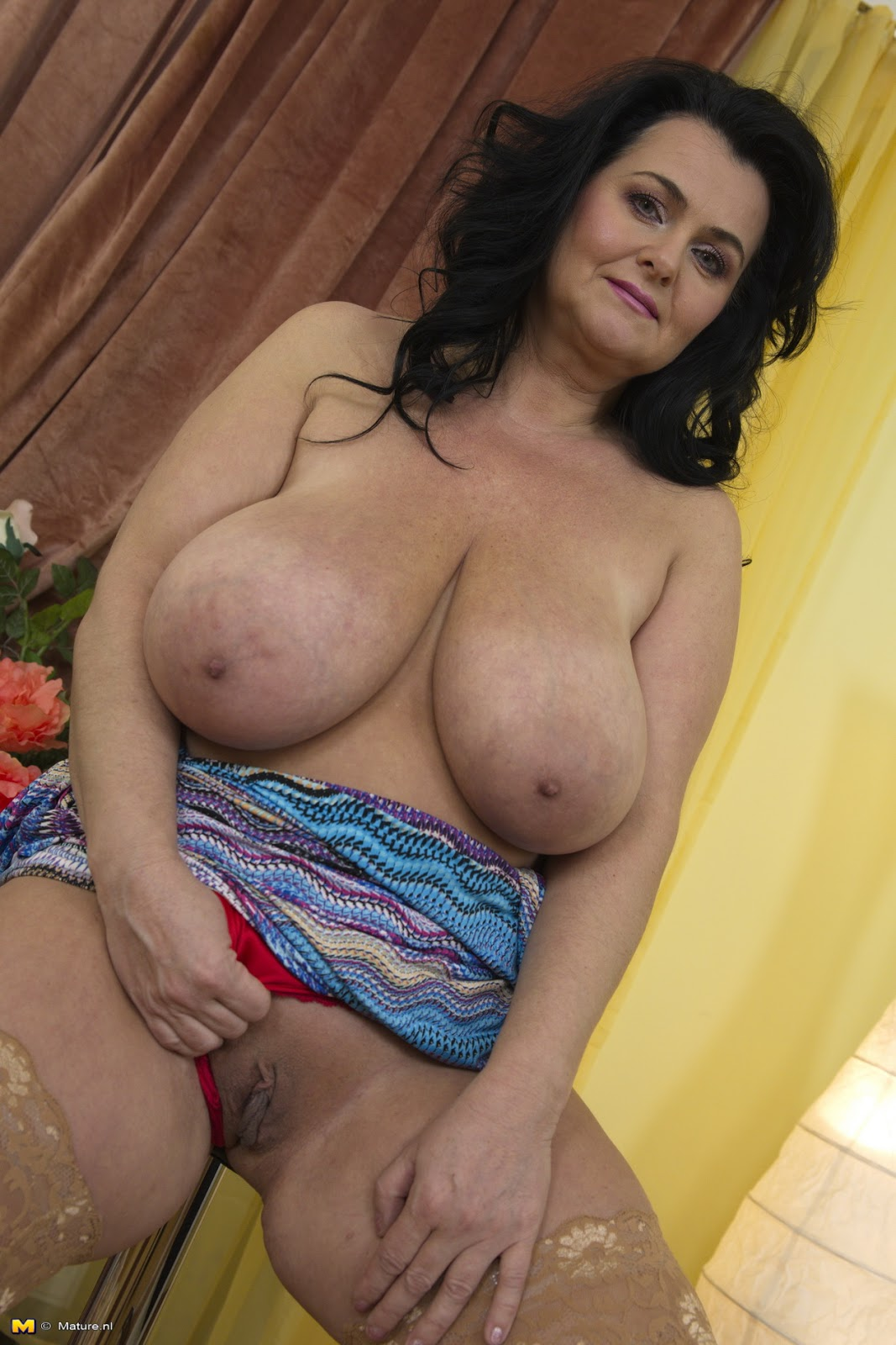 Mature Large Breasted Woman