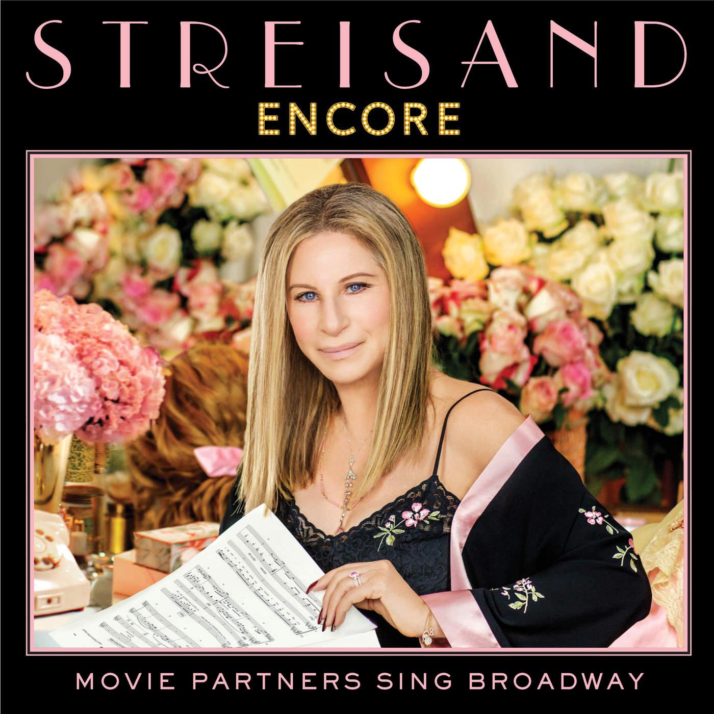 Barbra Streisand - Encore: Movie Partners Sing Broadway Cover