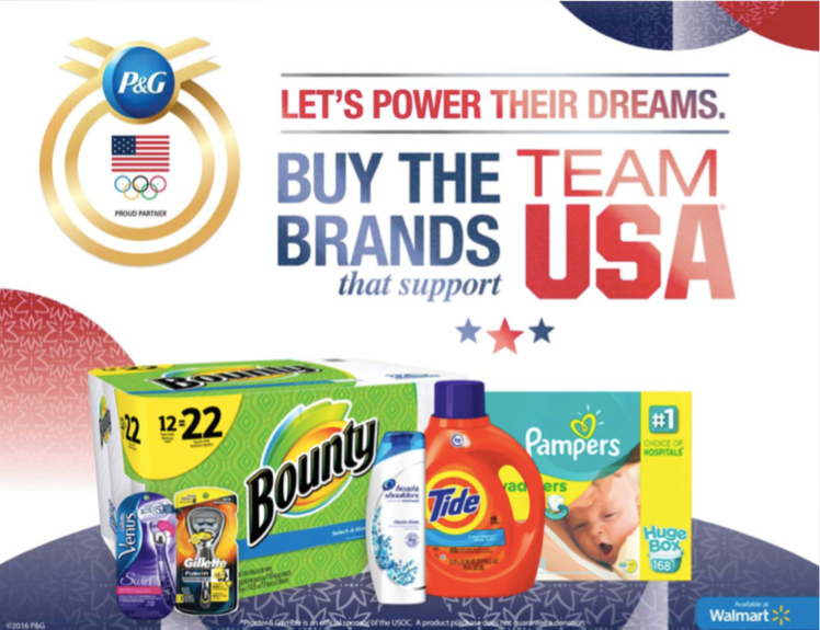 LetsPowerTheirDreams with P&G at the Summer Olympics - First