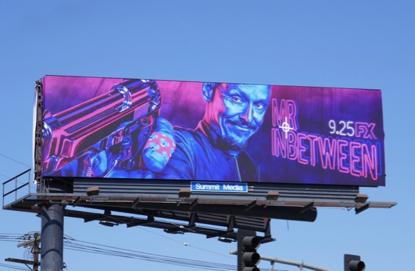 Mr Inbetween series premiere billboard