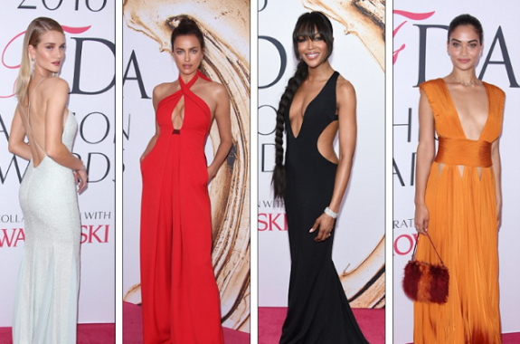 CFDA Fashion Awards in New York:Gabrielle Union, Naomi Campbell, Heidi Klum and others at the red carpet moment . 111