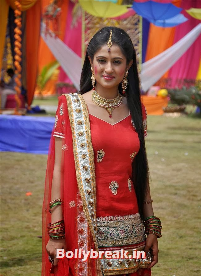 special holi episode shoot of balika bani madhubala 12 pics