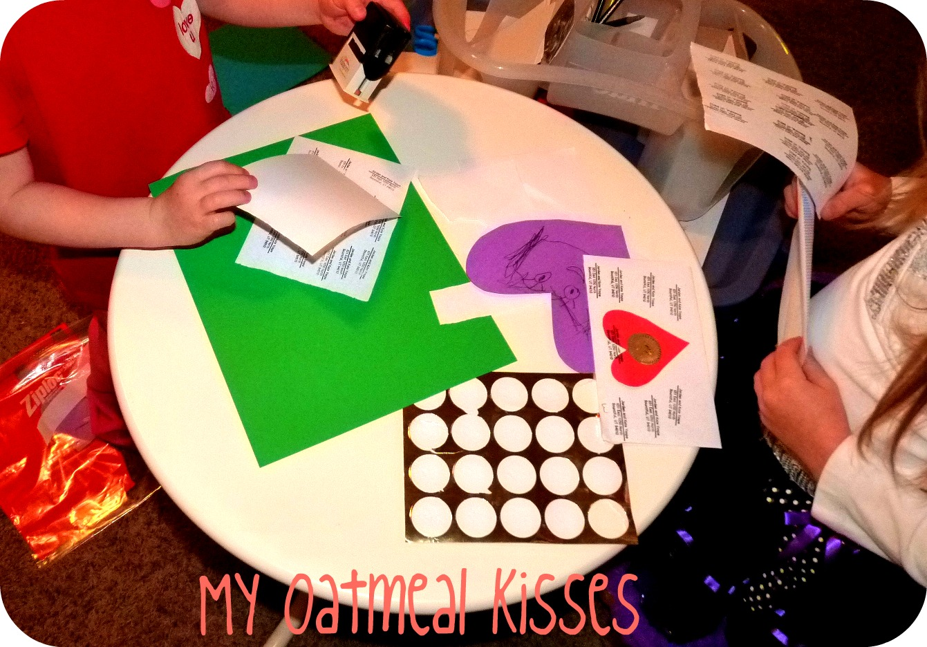 My Oatmeal Kisses Valentine S Day Preschool Fun