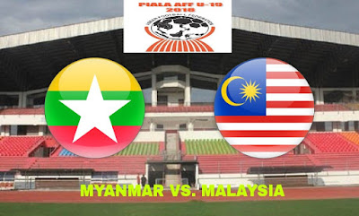 Live Streaming Myanmar vs Malaysia Final AFF B-19 14.7.2018