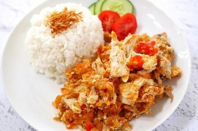 Cara Membuat Resep Ayam Geprek Spesial - naresep.com