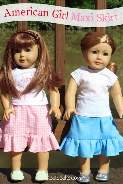 17 #AmericanGirlDoll #HomemadeGift Ideas. #AGDoll #Gift #Gifts #RealCoake