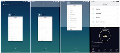 Cara Split screen Multitasking di Redmi Note 5 Pro