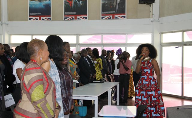 Photos: Becca Wows Guests At Commonwealth Day Event