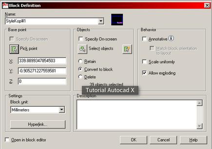 Tutorial Cara Membuat Kop di AutoCAD | Tutorial Autocad X