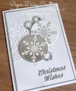 Stampin' Up! Winter Wonder Christmas card