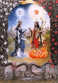 Sun and Moon Equal Divine Balanced Opposites Sun-moon-prince-princess