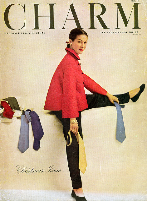 fashion magazine covers from 1940s