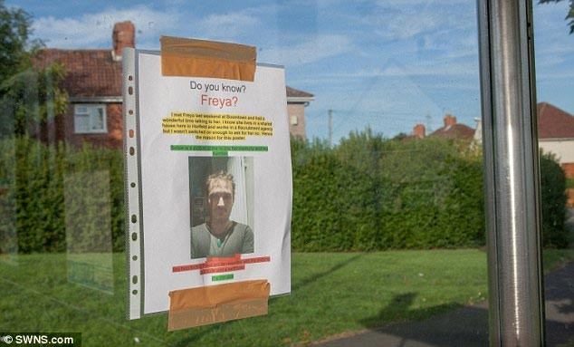 Man prints posters all over town to in attempt to reach girl he met but forgot to collect phone number