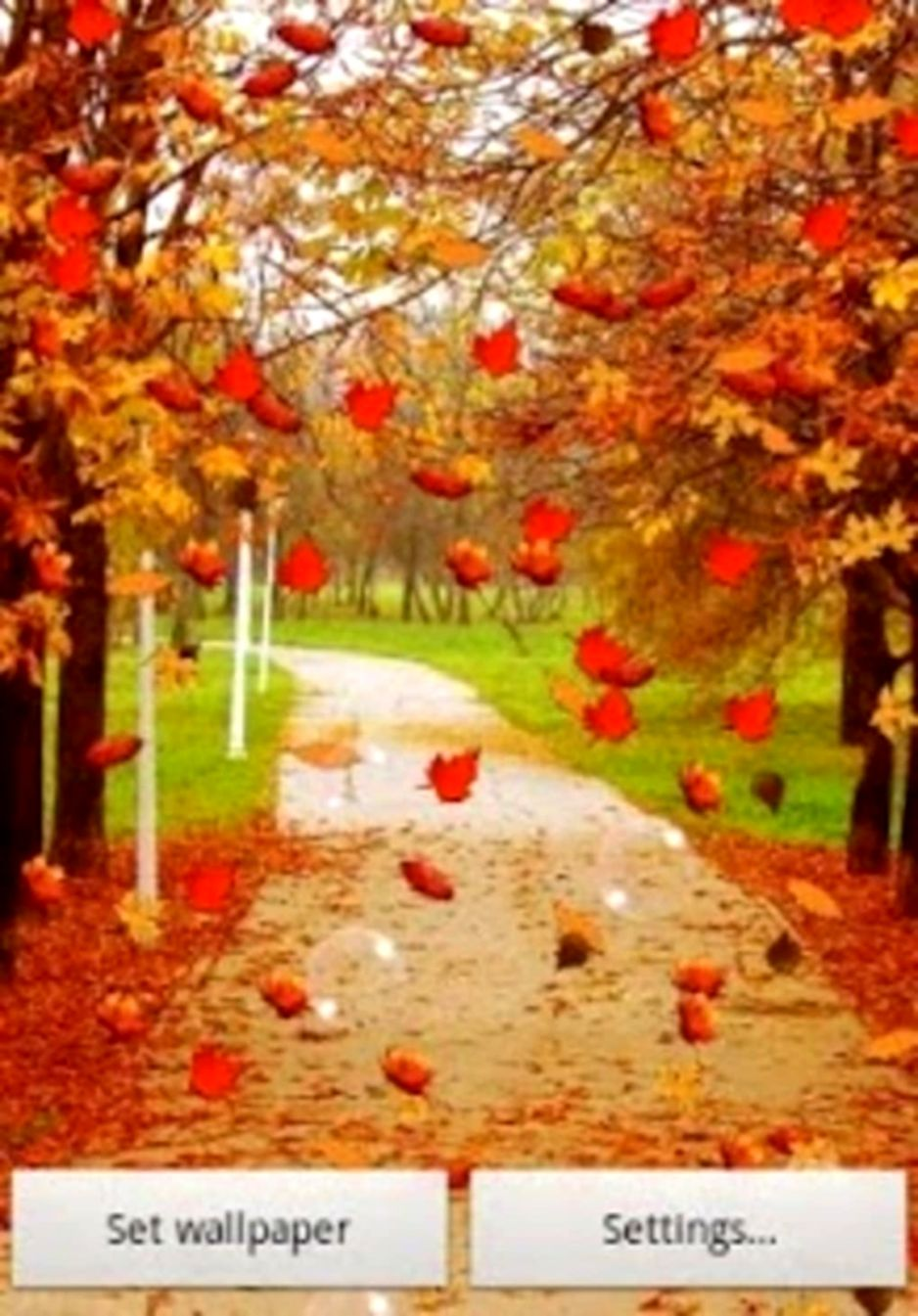 Live Fall Wallpaper Opera Wallpapers