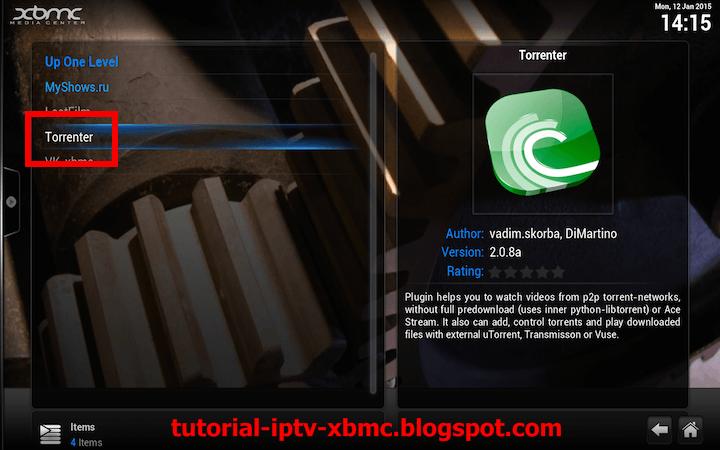 Install Torrenter V2 for XBMC new Torrent Stream/Download