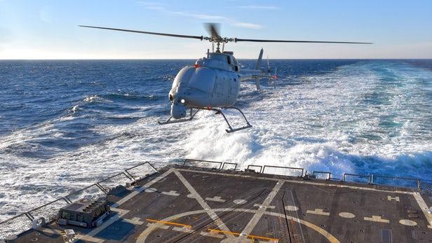 Безпілотний гелікоптер MQ-8C заступив на службу