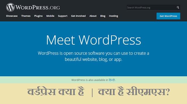 wordpress kya hai hindi
