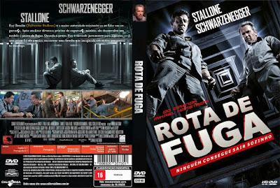 Filme Rota de Fuga 2013 (Escape Plan) DVD Capa