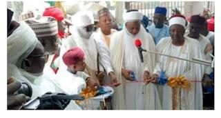 sarakunan Arewa 20 sun bude katafaren masallacin Borno da akayi shekaru 32 ana gininsa