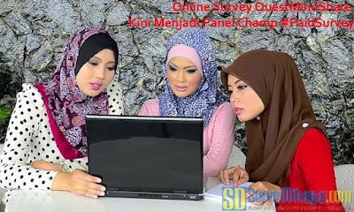 Online Survey QuestMindShare Kini Menjadi Panel Champ | SurveiDibayar.com