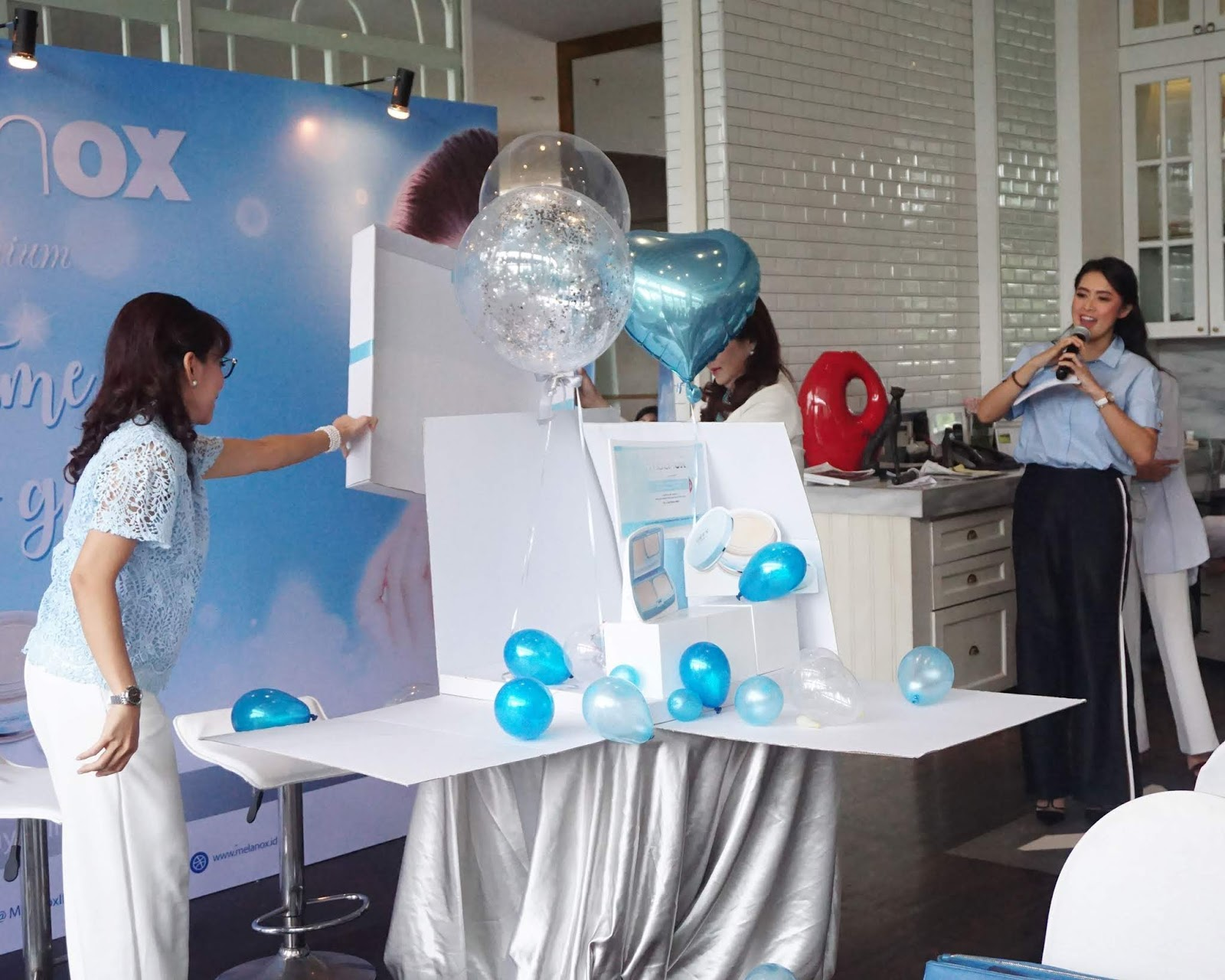 Event Melanox Premium Launching Product It S Time To Glow