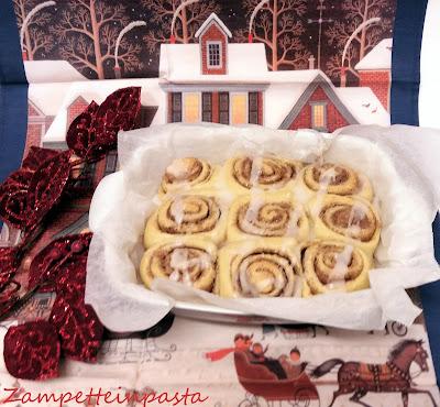 Cinnamon rolls - Girelle alla cannella