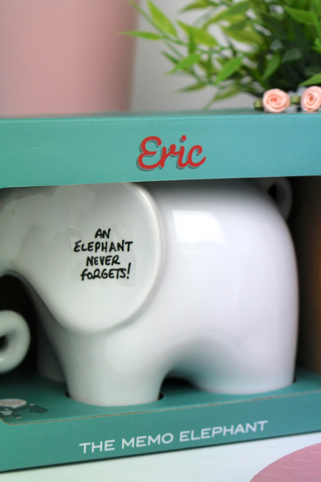 Luckies Eric the Memo Elephant