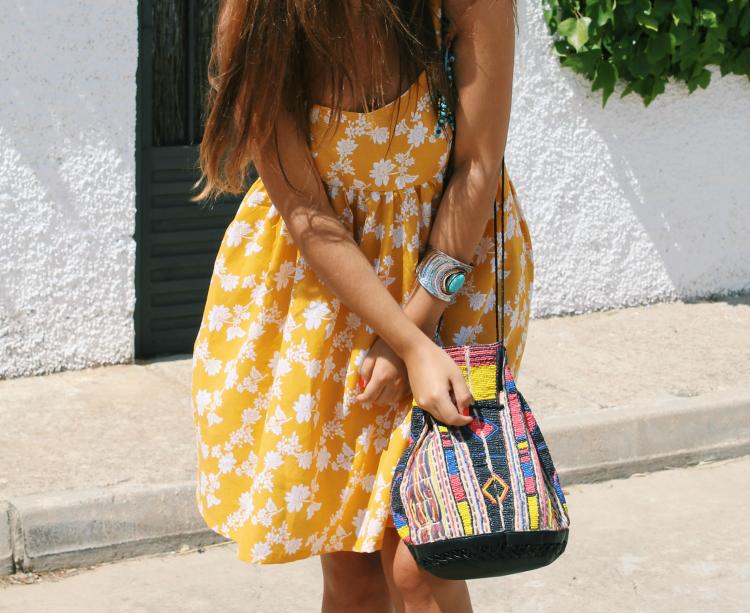 vestido verano amarillo blog de moda de leon