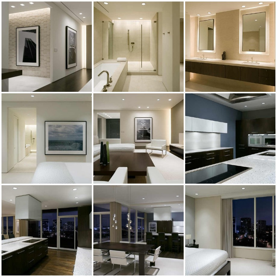 Contemporary Interior Design Dreams House Furniture Room New House