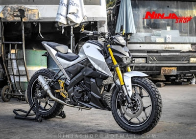 Modifikasi New Yamaha Xabre