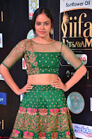 Nandita Swetha in a tight Green Choli Ghagra at IIFA Utsavam Awards March 2017 ~ 019.JPG