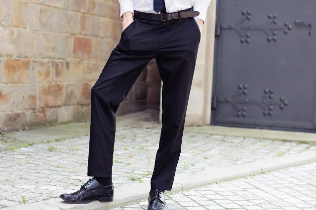 Spodnie weselne