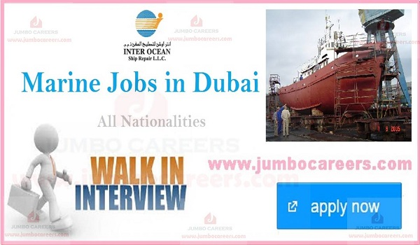 Jobs for Marine engineers in Dubai, Marine job openings in Dubai,