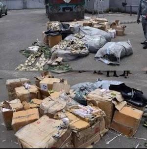 Customs Intercepts Truckload Of Military Hardware & Tramadol